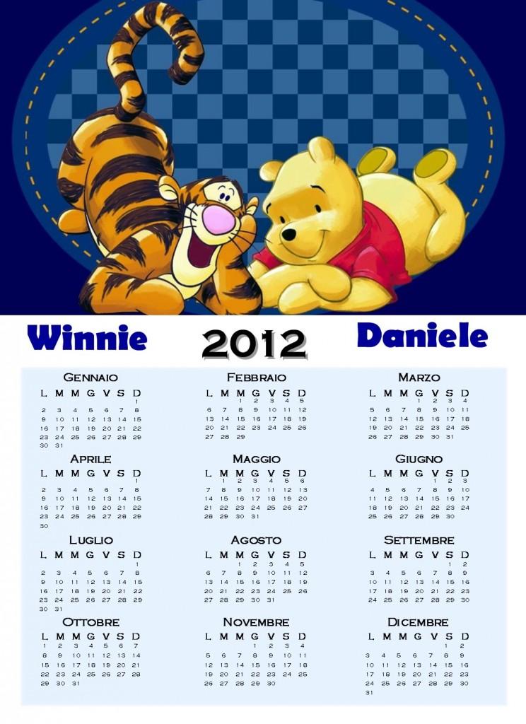 Calendario De Winnie Pooh Enero 2012 Wallpapers Real Madrid Picture