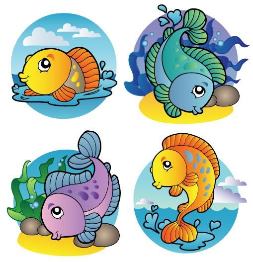 Pesciolini da colorare e ritagliare appunti di scuola for Pesciolini da colorare e stampare