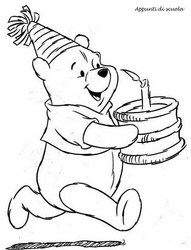 Super Winnie the Pooh da colorare | Appunti di scuola TL94