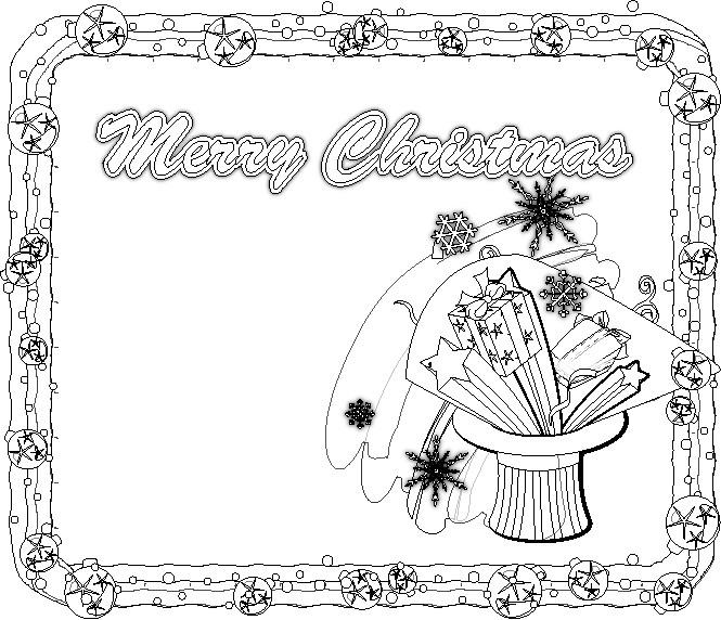 Disegni Di Natale Per Scuola Media.Disegni Di Natale Due Versioni Colorati E Da Colorare Appunti Di