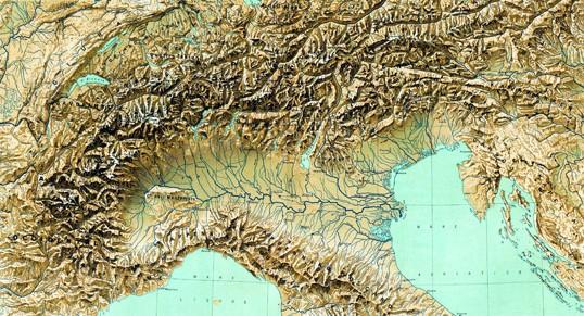 Cartina Dell Italia Alpi E Appennini.Monti Colline E Pianure Dell Italia Settentrionale Appunti Di Scuola