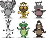 disegni da colorare,disegni da ritagliare,disegni da forare,disegni animali,disegni foresta,disegno elefante,disegno coccodrillo,disegno scimpanzè,disegno zebra, disegno ippopotamo ,disegno leone,disegni scuola materna,disegno con puntini,
